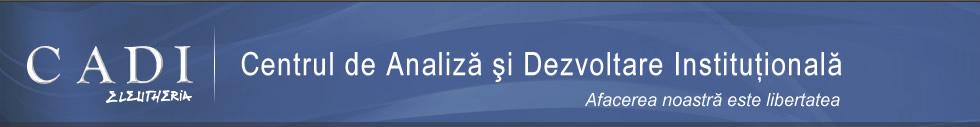 CADI - Centrul de Analiza si Dezvoltare Institutionala
